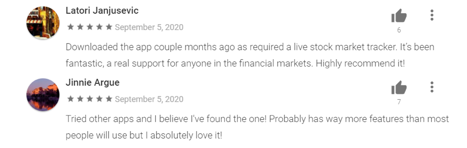 Google Play Comments