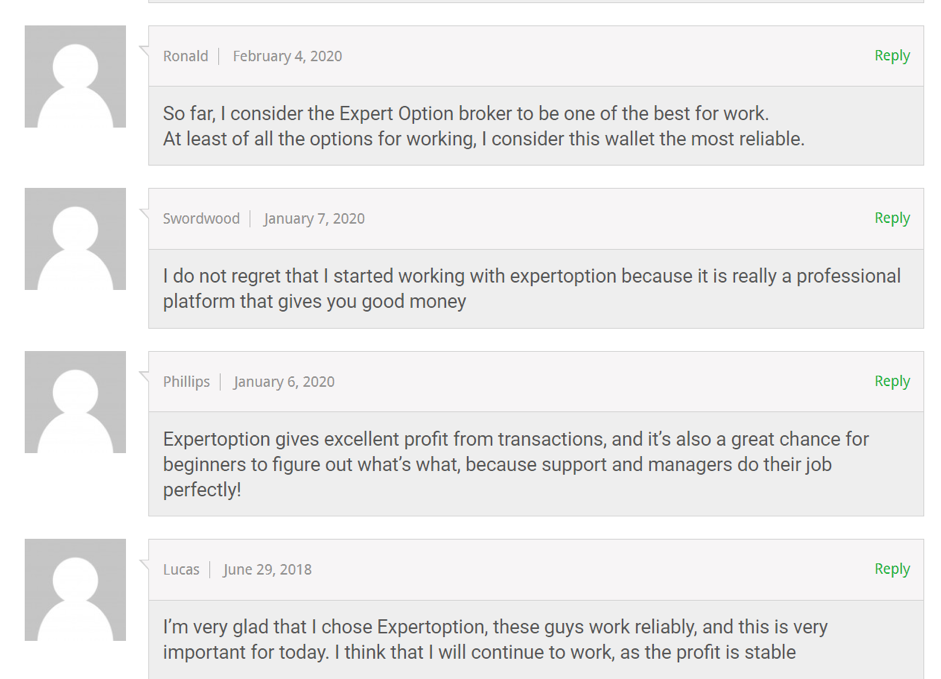 Customers about ExpertOption
